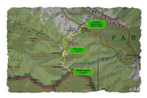 Mapa szlaku